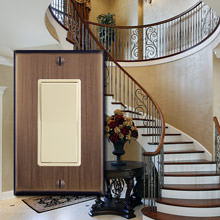 Elegant Venetian entryway switchplates
