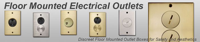 Electrical Floor Boxes & Floor Outlet Cover Plates
