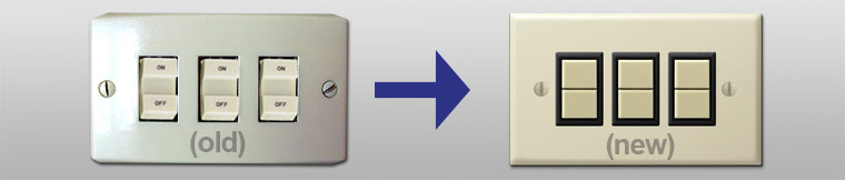 How to Install New GE Low Voltage Light Switches & Wall Plates