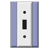 Smallest Width Switch Plate 1.5 Inches