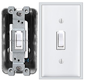 Switch Plates that are Less Wide