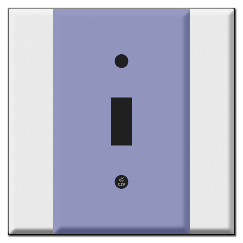 Centered 2 Gang Wall Plate