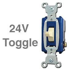 24V Toggle Switch