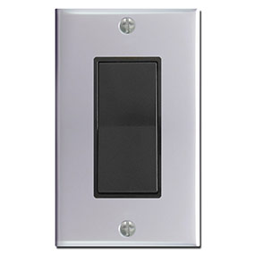 Polished Chrome Light Switch Plates Outlet Covers Rocker Wall Plates