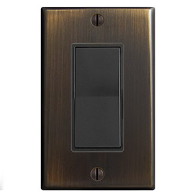 Oil Rubbed Bronze & Black