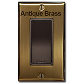 Antique Brass & Bronze Light Switches