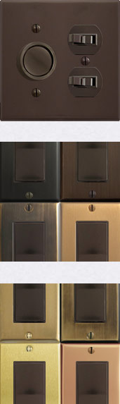 Brown Switches for Kitchens & Bathrooms