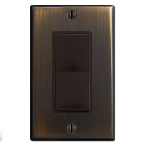 Oil Rubbed Bronze & Brown
