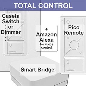 Caseta Lighting Control Components