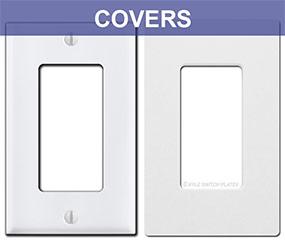 Rocker Cover Plate for Caseta Switch