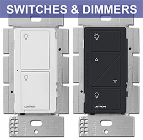 Lutron Caseta Switches & Light Dimmers