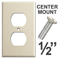 Center Mount Outlet Cover Screws