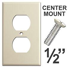Center Mount Outlet Cover Screws