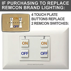 Classic Switches Replace 2 or 3 Rencom