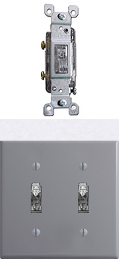 Clear Light Switches