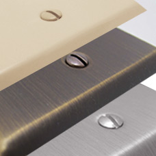 Compare Metal Switch Plate Finishes