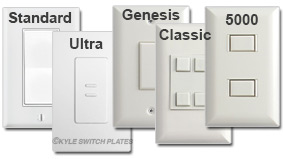 Touch Plate White Finishes Vary