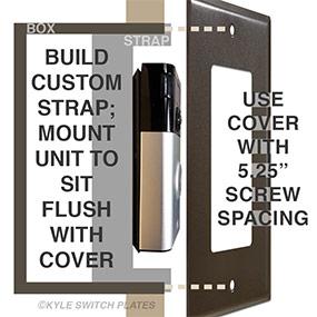 Intercom Speaker & Doorbell Wall Plates - Nutone TekTone M&S
