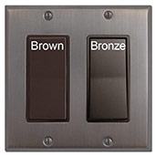 Brown vs Bronze Finish