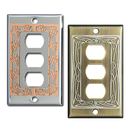 decorative despard switch plates