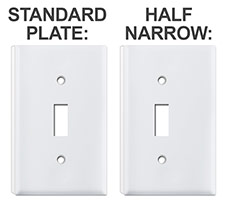 Depth Ring Under Standard or Half Narrow Plate