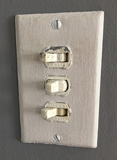 Despard Eagle Switch Plates