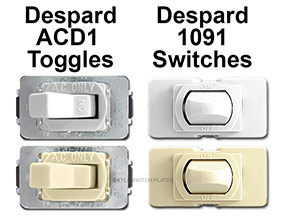 Depard Light Switch Finishes Match