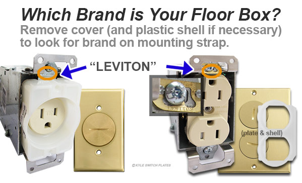 Determine Floor Box Cover Brand