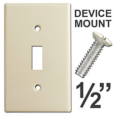 Device Mounting Screws for Switchplates