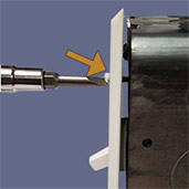 Example of Device Mount Cover Plate