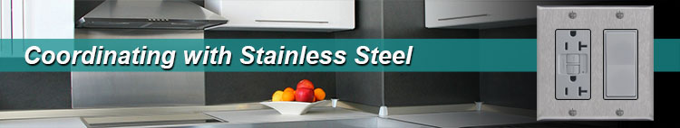 Stainless Steel Switches & Outlets
