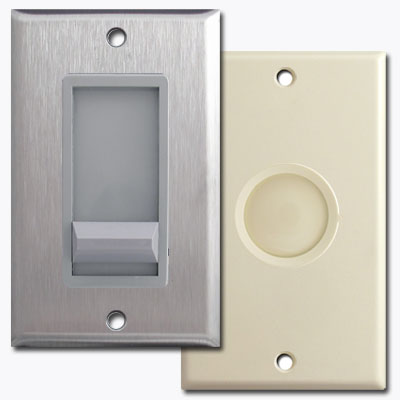 Dimmer light switch types and descriptions