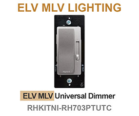 Electronic Low Voltage Dimmer Switches