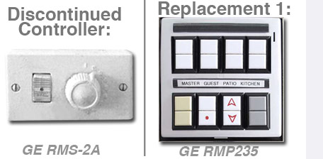Discontinued GE RMS-2a Lighting Controller