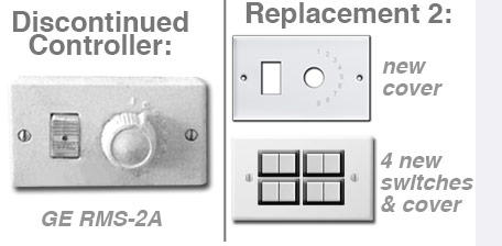 Replacements for GE RMS-2A Controllers