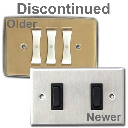 Discontinued Remcon Switch Plates & Wall Switches