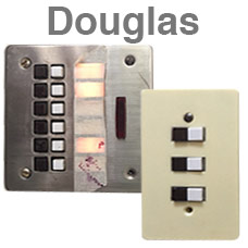 Douglas Keypads for Light Switches
