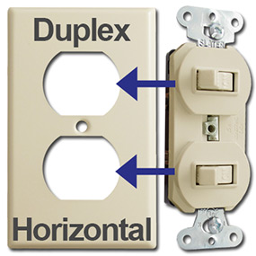 Identify Horizontal Toggle Opening