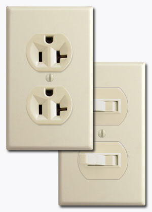 Understanding electrical light switches rockers and outlet devices duplex devices publicscrutiny Image collections