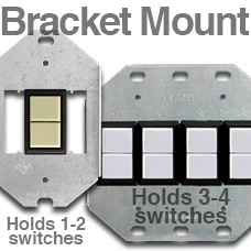 Brackets for GE Low Voltage Switches