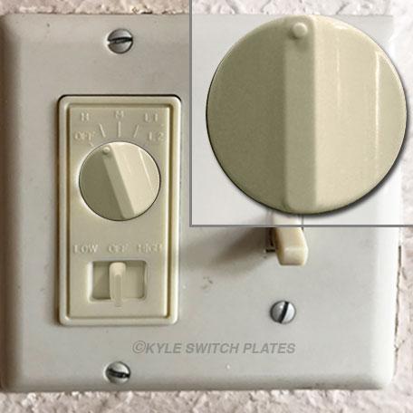 Leviton L6620 Fan Control Knob