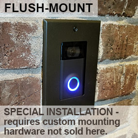 Flush Mount Video Doorbell Installation