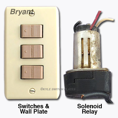 Bryant Low Voltage Lighting Replacement Switch - GE Brand
