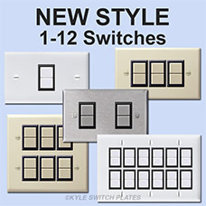 New GE Plates hold more switches