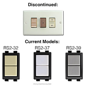 GE Low Voltage Switches - Original & New Replacement Versions