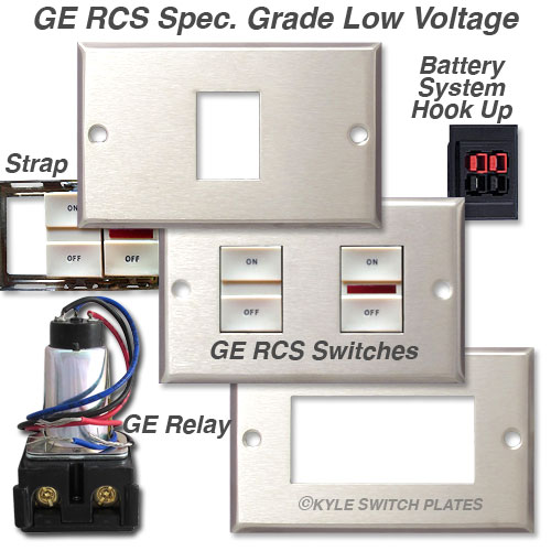 Ge Low Voltage Lighting Switches Replacement Rcs Switch