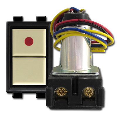 Low Voltage GE Pilot Switch and Remote Control Relay Switch