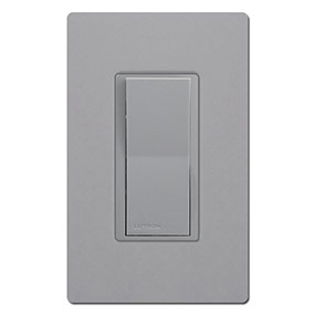 Lutron Gray & Screwless Gray