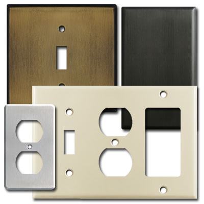 Wall Socket Plate Covers Adorable Switch Plates In Hard To Find Sizes  Easy Custom Solutions Decorating Design