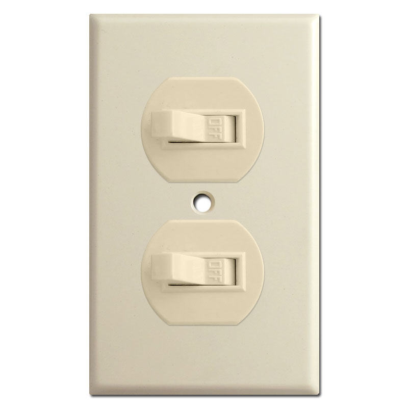 Horizontal toggle switch plates explanation